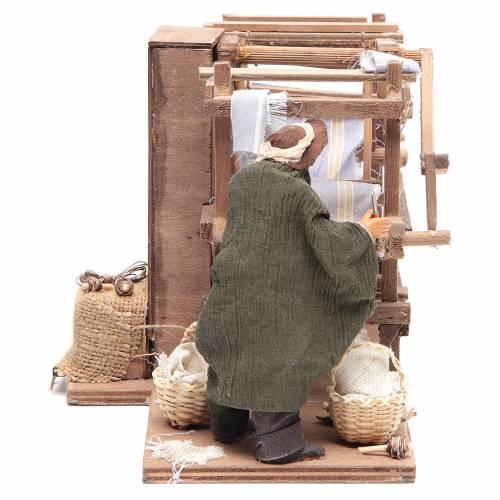 Homme au cadre 14 cm animation crèche napolitaine s3