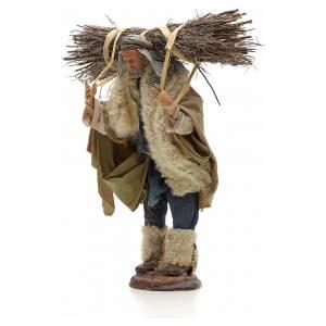 Homme au fagot crèche Napolitaine 30 cm s2