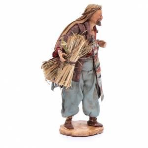 Homme aux fagots de paille 13cm Angela Tripi s4