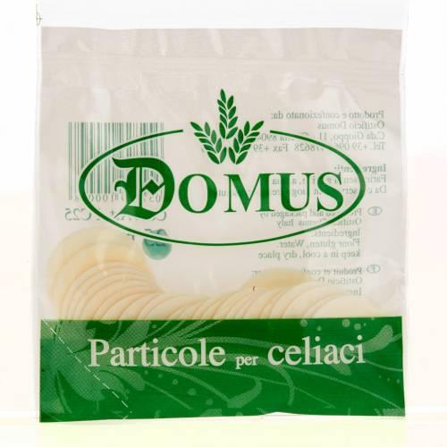 Hostias para celíacos sin gluten 25 piezas 3,5 cm s1