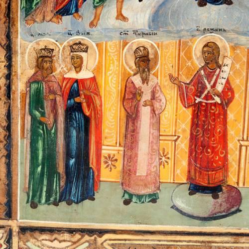 Icona antica detta Pokrov