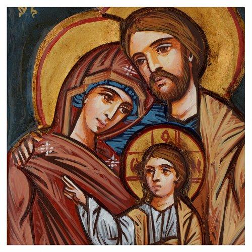 Icona della Sacra Famiglia Romania s2