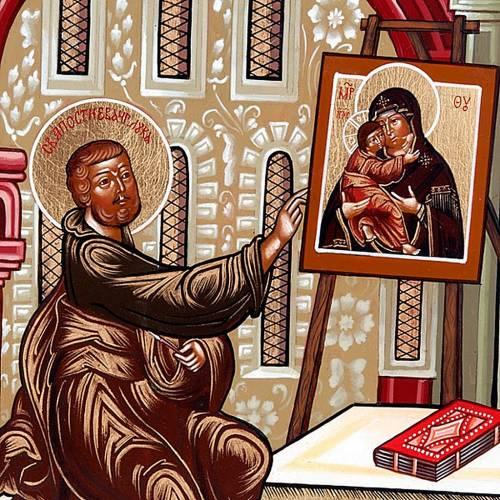 Icona San Luca Evangelista Russia 3