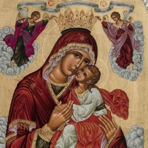 Icona Grecia Madonna della Passione da tavolo argento 925 s2