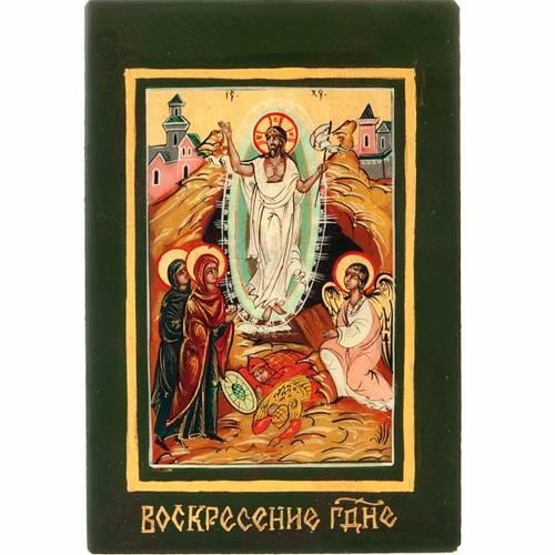 Icona russa Resurrezione s1