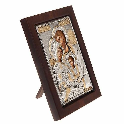 Icona Sacra Famiglia riza 3