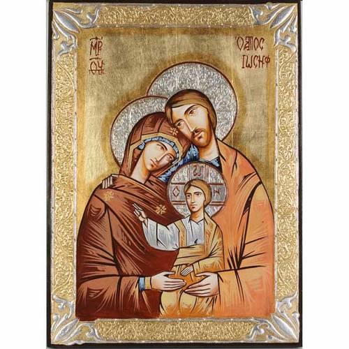 Icona Sacra Famiglia rumena s1