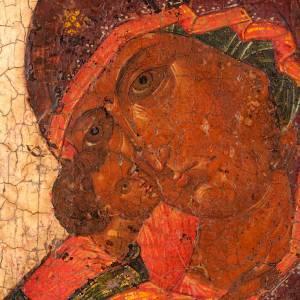 Icône ancienne mère de Dieu de Vladimir s6