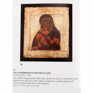 Icône ancienne mère de Dieu de Vladimir s3