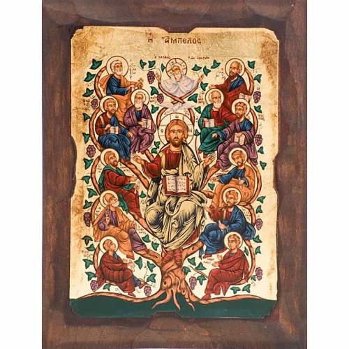 Icône Arbre de Jésus et les Apôtres s1