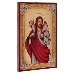 Icône de Jésus le bon pasteur s2