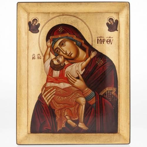 Icône Hodigitria peinte Grèce s1