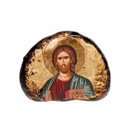 Icone stampate terracotta Gesù, Maria s5