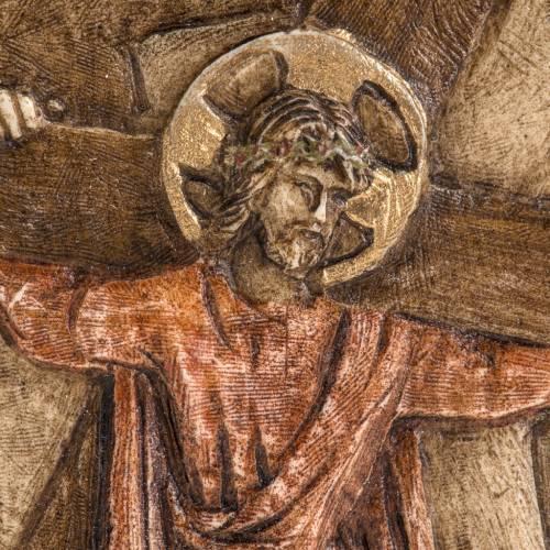 II estación Vía Crucis piedra Bethléem s2