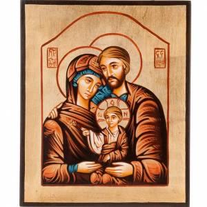 Handgemalte rumänische Ikonen: Ikone Heilige Familie