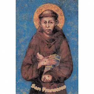 Images pieuses: Image pieuse St François