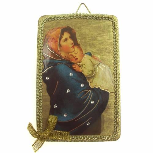 Image Vierge du Ferruzzi en bois 1