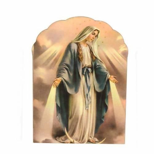 Imán de madera de Nuestra Señora Milagrosa 1