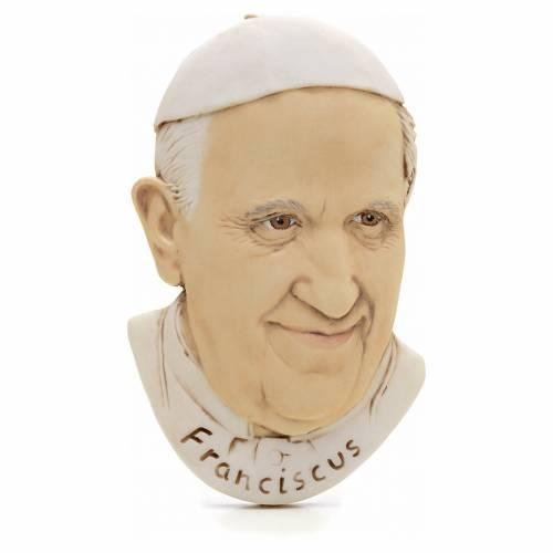 Imán resina Papa Francisco s1