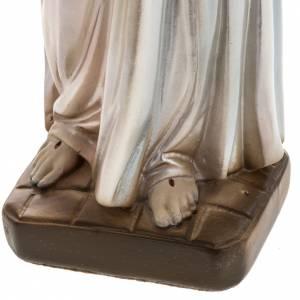 Jesus Divine Mercy, pearlized plaster statue, 30 cm s4