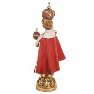 Jésus enfant de Prague 50 cm résine Fontanini s5