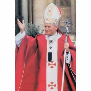 Holy cards: John Paul II holy card