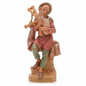 Joueur de musette crèche 17 cm Fontanini s1