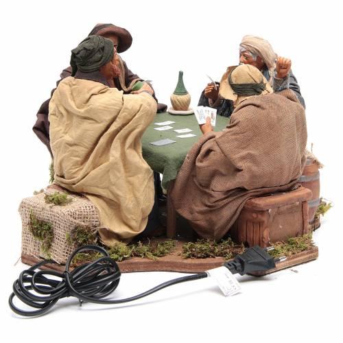 Jugadores de cartas 4 figuras 24 cm movimiento Belén Napolitano s4