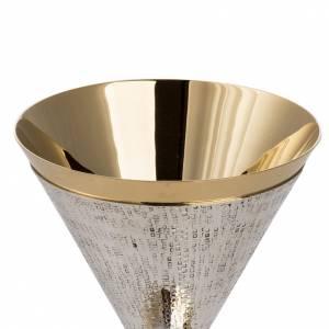 Metall Kelchen, Patenen, Ziborium: Kelch Modell Ventus vergoldet und versilbert