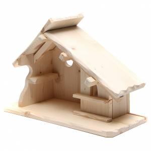 Kit capanna presepe legno componibile s2