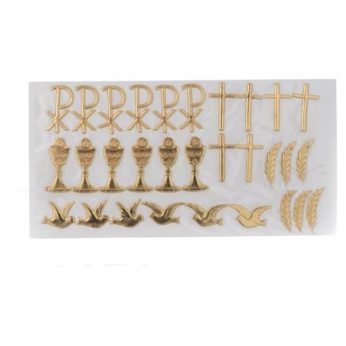 Kit pour décoration bougies Sacrements s1