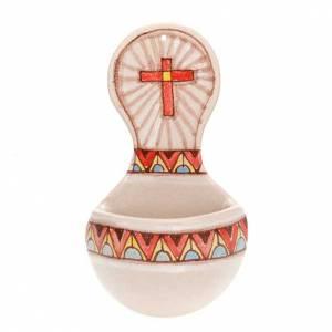Weihwasserbecken: Weihwasserbecken kreis Keramik