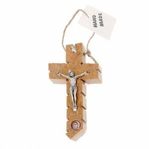 Kruzifixe aus Stein: Kruzifix Medjugorje aus Stein