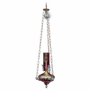 Lampe à suspendre Sanctuaire 14 cm laiton anges s1