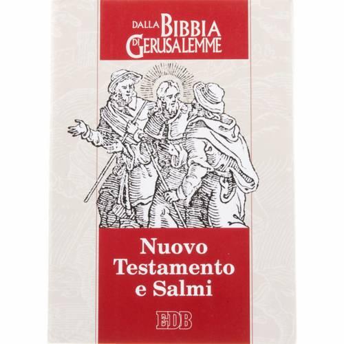Le nouveau testament,  psaumes bible de Jérusalem ITALIEN s1