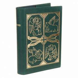 Lectionary covers: Leather slipcase for Lectionary with evangtelists symbols