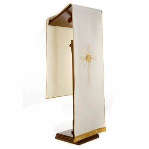 Lectern Cover, embroidered IHS and halo of rays s4
