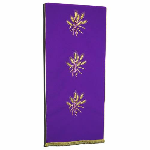 Lectern Cover in polyester with ears of wheat s1