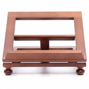 Book stands: Lectern in walnut wood 30x24cm