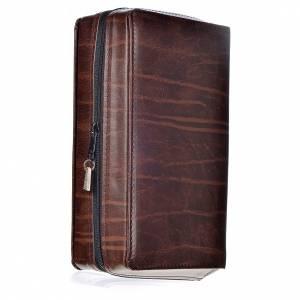 Deckel für Stundenliturgie 4 Bände: Ledereinband für die Stundenliturgie - dunkelbraun