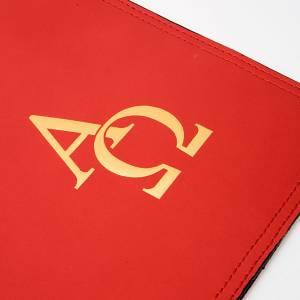 Deckel für Lektionar: Lektionareeinband Leder Alfa und Omega