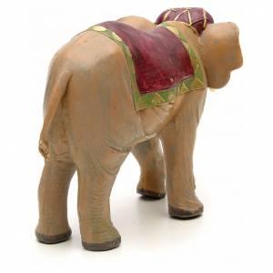 Éléphant crèche Fontanini 12 cm s3