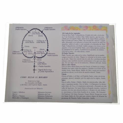 Libretto con rosario Santo Rosario Giovanni P. II s2