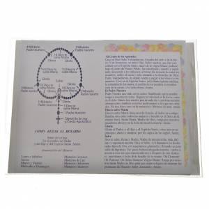 Livre avec chapelet Le Saint Rosaire Jean-Paul II ITALIEN s2