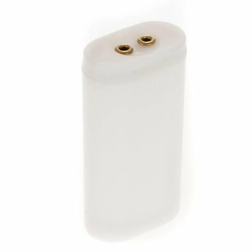 Lleva baterías AA para luces belén s1