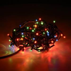 Luce natalizia 100 minilucciole multicolor per interni s2