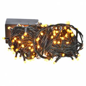 Luce natalizia minilucciole 180 col rame programmabili interni s1