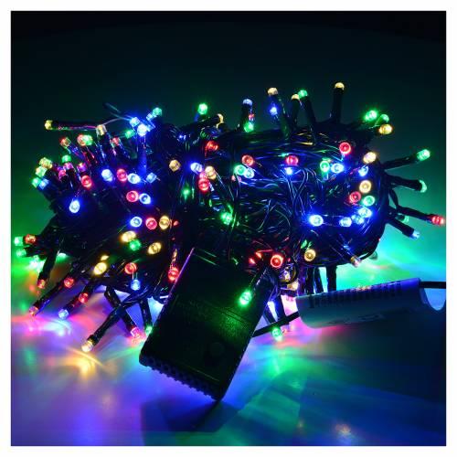 Luci di Natale 300 led multicolor per esterno-interno s2