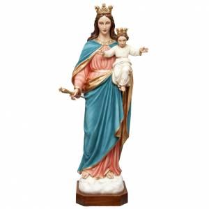 Statue in Vetroresina: Madonna Ausiliatrice 120 cm vetroresina dipinta