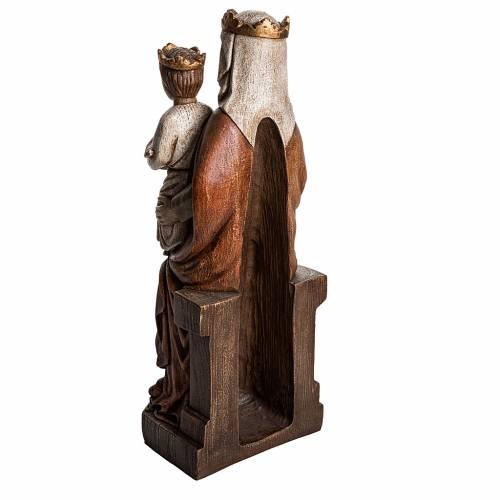 Madonna di Liesse 65 cm pietra Bethléem s4